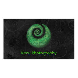 Koru Photography Business Card Templates