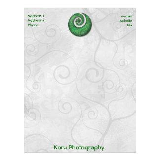 Koru Photography Letterhead