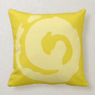 Koru Symbol Throw Pillow