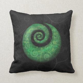 koru throw pillow