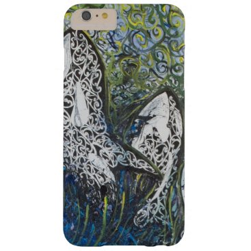 pacificstain Koru Whales Barely There iPhone 6 Plus Case