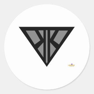 Korupt Kernel Belt Buckle Classic Round Sticker