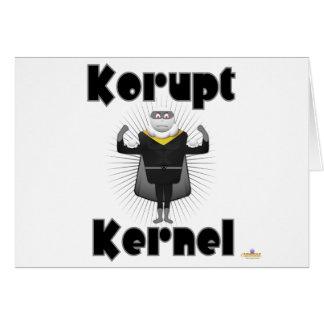Korupt Kernel Popcorn Supervillain Card