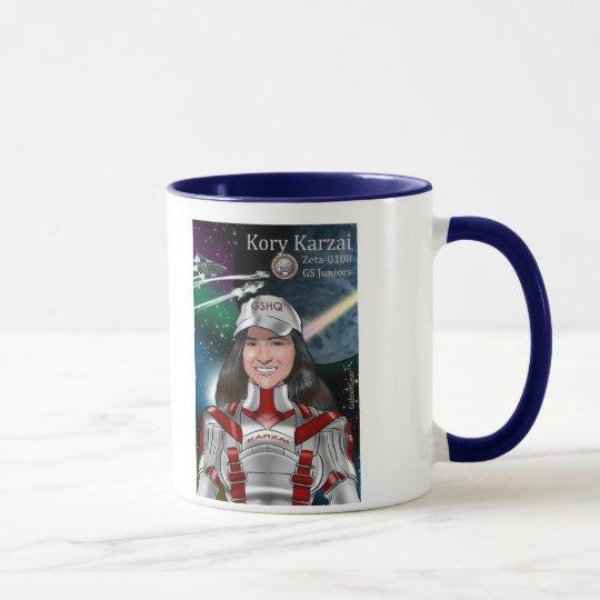 Kory Karzai Poster Mug