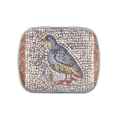 Kos Bird Mosaic Jelly Belly Candy Tins at Zazzle