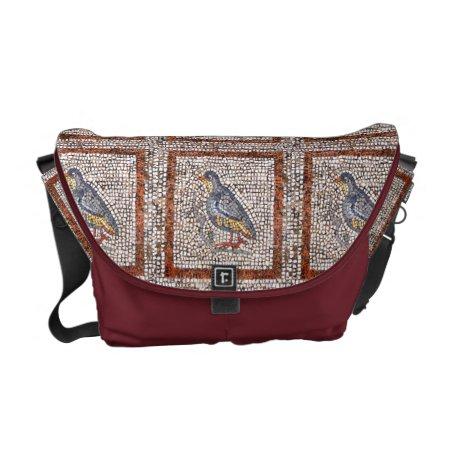 Kos Bird Mosaic Messenger Bag