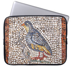 Kos Bird Mosaic Neoprene Laptop Sleeve 15-17