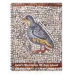 Kos Bird Mosaic Notebook