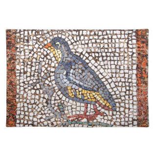 Kos Bird Mosaic Placemats at Zazzle