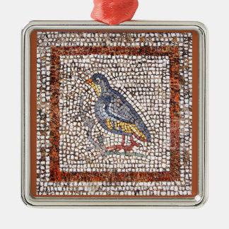 Kos Bird Mosaic Premium Square Ornament