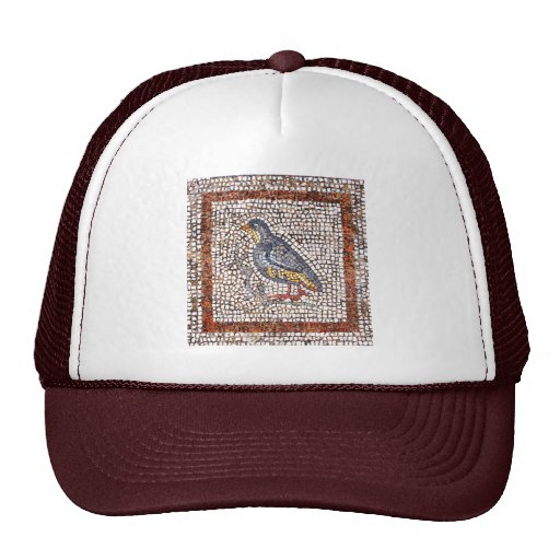 Kos Bird Mosaic Sports Team Club Hat