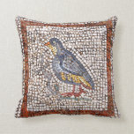 Kos Bird Mosaic Throw Pillow