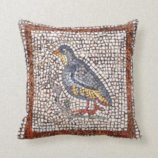Kos Bird Mosaic Throw Pillow (S)