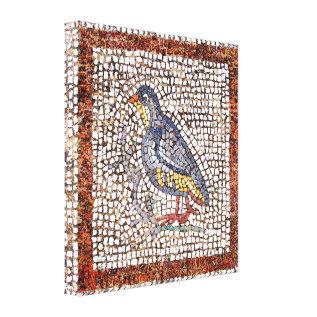 Kos Bird Mosaic Wrapped Canvas 1.5 Inch Frame at Zazzle