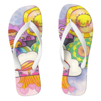 Kosharek art flip flops