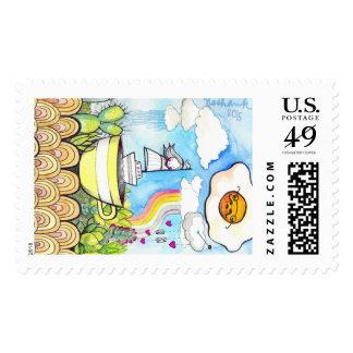 Kosharek art postage stamp!