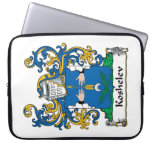 Koshelev Family Crest Laptop Sleeves