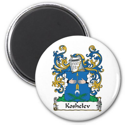 Koshelev Family Crest Magnets