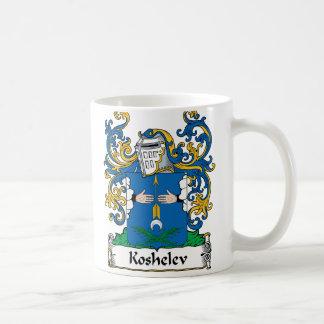 Koshelev Family Crest Classic White Coffee Mug