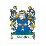 Koshelev Family Crest Post Cards