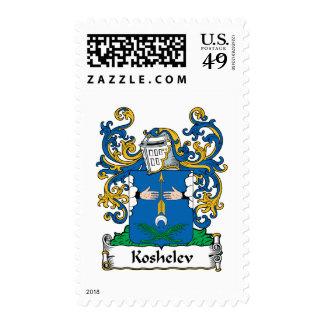 Koshelev Family Crest Stamps