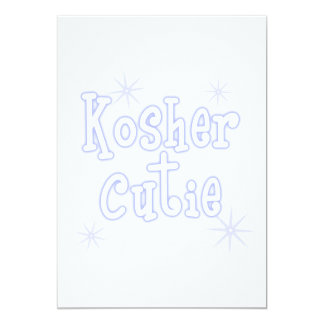 kosher cutie blue card