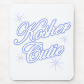 kosher cutie blue mouse pad