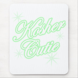 kosher cutie green mouse pad