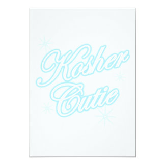 kosher cutie lt blue card