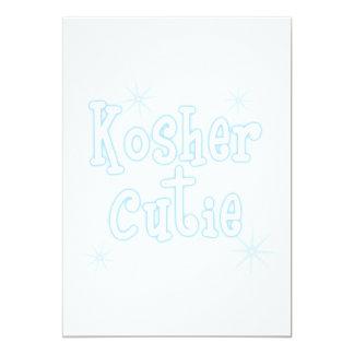 kosher cutie lt blue card