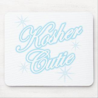 kosher cutie lt blue mouse pad