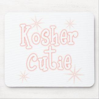 kosher cutie peach mouse pad