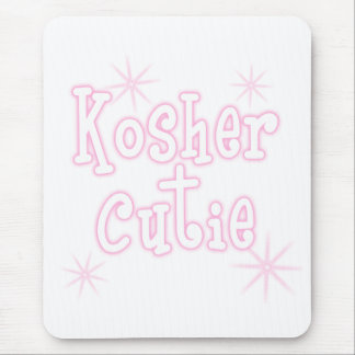 kosher cutie pink mouse pad