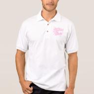 kosher cutie  pink polo t-shirts