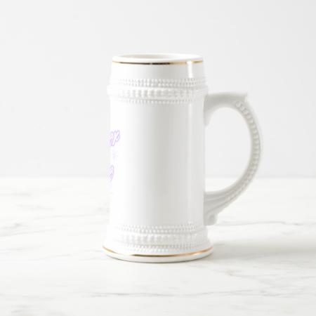 kosher cutie purple coffee mug