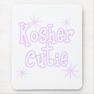 kosher cutie -purple mouse pad