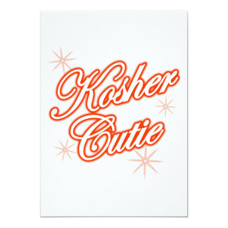 kosher cutie red card