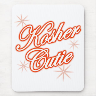 kosher cutie red mouse pad