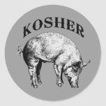 Kosher Etiquetas Redondas