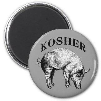 Kosher Imán Redondo 5 Cm