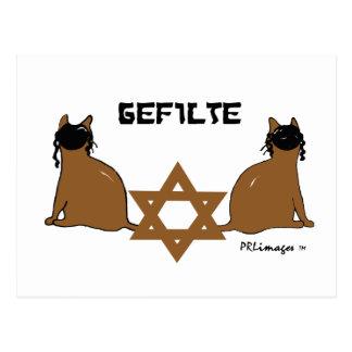 Kosher Kats Postcard