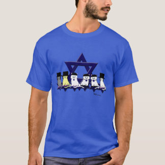 Kosher Kitties In A Row Basic T-Shirt
