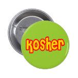 Kosher Pinback Button