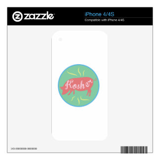 Kosher Decals For iPhone 4S
