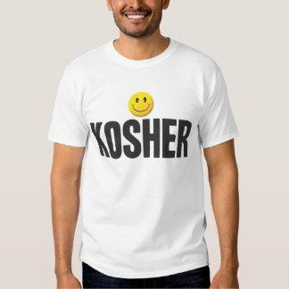 Kosher Smiley Tag Tee Shirt