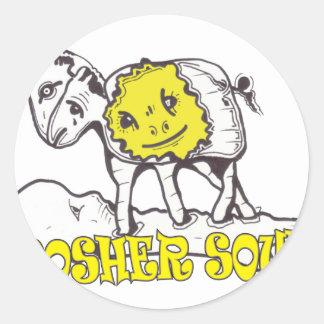 Kosher Soul Classic Round Sticker