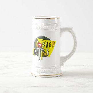 Kosher Time Beer Stein