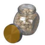 Kosher Toasted Marshallow Jelly Belly Candy Glass Jars
