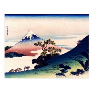 Kōshū Inume-Tōge Tarjeta Postal