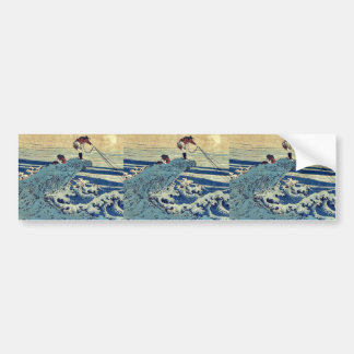 Koshu kajikazawa por Katsushika, Hokusai Ukiyoe Pegatina Para Auto